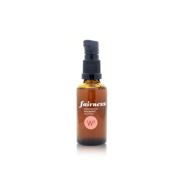 W2 fairness face serum with mulberry and licorice